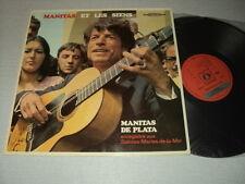 MANITAS DE PLATA 33 TOURS FRANCE MANITAS ET LES SIENS