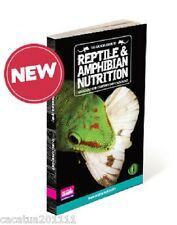 DISCONTINUED: ARCADIA GUIDE TO REPTILE AND AMPHIBIAN NUTRITION