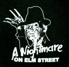 A Nightmare on Elm Street / Freddy Krueger - PATCH canvas screen print HORROR