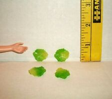 Miniature Re-Ment 1/6 Scale Doll Accessory Food Retired Lettuce Slices Lot