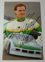 1989 KENNY WALLACE SIGNED AUTOGRAPHED NASCAR COX LUMBER ADVERTISING PHOTO COA