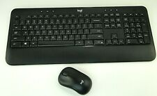 New listing Logitech logi K540 Advanced Wireless Keyboard And Mouse w/out Unifying receiver
