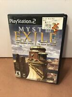 Myst III Exile 3 Complete CIB PlayStation 2 PS2 Game Tested ps