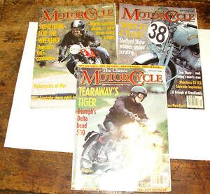 The Classic Motorcycle Magazine Zeitschrift  1999 / 2000