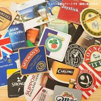 Set of 25 different brand new cardboard Beer Mats from the pubs of England (pp)