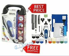Wahl Professional Hair Cut Trimmer 21 Piece Kit Clippers Haircut Barber Set Pro