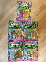 Teenage Mutant Ninja Turtles 1988 Set Playmates Unopened original TMNT 5 Figures