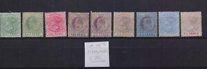 ! Lagos  1885-1905. Lot Of 9 Stamp. YT#. €39.00!