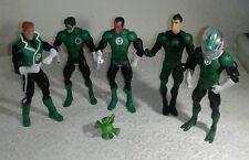 "DC universe Green Lantern action figure lot of 5 7"""