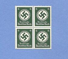 Mint stamp block / PF06  / Nazi Swastika / MNH Block /  1934 Third Reich Issue