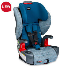 Britax Grow With You ClickTight Child Safety Booster Car Seat Seaglass New