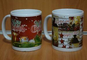 Tazza Mug Buon Natale o Merry Christmas Articolo Regalo Natalizio Originale