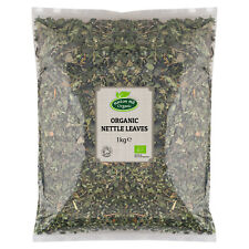 Organic Dried Whole Nettle Leaves Certified Organic