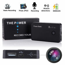 1080 HD Motion Activated Spy Camera DVR Power Bank Portable Battery Video Spycam