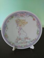 "1991 Precious Moments Caring and Sharing Series ""Mom"" Plate with Stand"