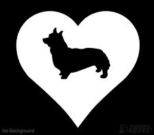 Corgi In Heart Decal Dog Sticker Outdoor Vinyl Any Colour Buy 2 Get 1 Free