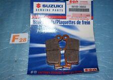 2 plaquettes de frein arrière d'origine SUZUKI RM 125 250 DR-Z 400 69100-36850
