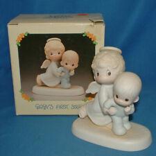 Precious Moments Figurine E2840 ln box BABY'S FIRST STEP