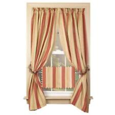 Country new PROVIDENCE striped window panels/ nice