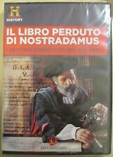 Il libro perduto di Nostradamus 90 min (2013) DVD **NUOVO SIGILLATO**
