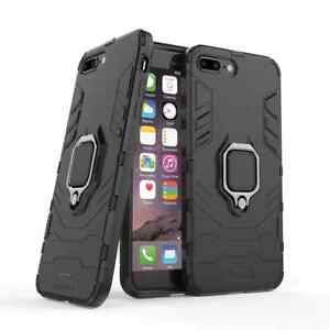 Ring Case For iPhone 11 12 SE XR XS 8 7 Shockproof Rugged Stand Armor Cover