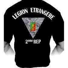 Tee-Shirt / T-Shirt 2eme REP (Régiment Etranger Parachutistes)