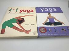 2X Yoga Books COMPLETE BOOK OF YOGA,and Yoga by Christina brown