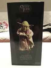 Sideshow Yoda Jedi Mentor Figur 1/6 Order of the Jedi Star Wars Sixth Scale