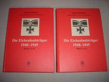 Die Eichenlaubträger 1940-1945 Band 1 & 2 BIBLIO Verlag Wehrmacht Ritterkreuz