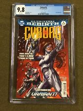 Cyborg #6  Teen Titans 1st Appearance Variant ~ CGC 9.8 Justice League Movie Dc