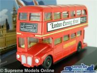 ROUTEMASTER LONDON MODEL BUS RED 1:76 SIZE OXFORD LD001 TRANSPORT ROUTE 12 T4