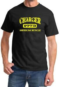 1972 Charger American Muscle Car Color Design Tshirt NEW Free Ship
