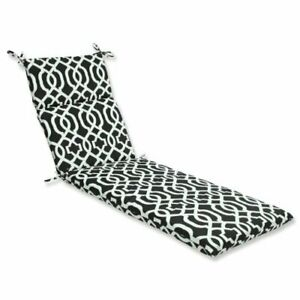 Pillow Perfect Outdoor/Indoor New Geo Chaise Lounge Cushion 72.5 in. L X 21 i...