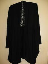 Von Troska long black cardigan Size M (14)