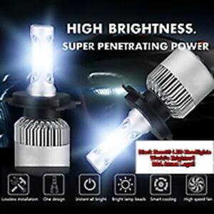 BLACK BEAST WORLD'S BRIGHTEST H4 DEL Headlights CREE H4 HB2 9003 1500W 225000LM