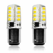 Luxrite 3W BA15D LED Bulb 2700K 200lm 40W Equivalent Double Bayonet Base 2-Pack