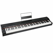 88 Key Music Electronic Keyboard Electric Digital Piano Black with Speakers