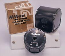 Mint Boxed - Nikon F SLR Camera F-250 35mm Bulk Film Motor Back Cassette
