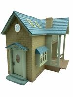 Calico Critters Sylvanian Families Blue Bell Cottage Riverside Lodge HTF