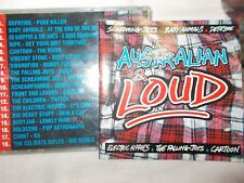 AUSTRALIAN & LOUD  - 18 TRK V/A CD - SCREAMING JETS-CELIBATE RIFLES-BABY ANIMALS