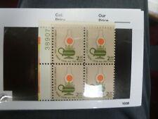 Mint Nh United States Plate Block Scott # 1611