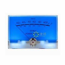 Classic Mcintosh Lake Blue Vu Meter Header Big Size Db Level Amplifier With Backl