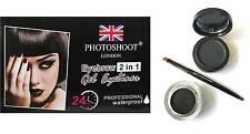 PHOTOSHOOT LONDON EYEBROW POWDER GEL EYE LINER EYESHADOW W/F BLACK BROWN HAZEL
