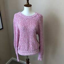 free people pink sweater size S/P pre owned great condition long sleeves