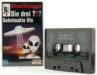 Die drei ??? 80 Fragezeichen Geheimakte Ufo Hörspiel MC schwarz Europa logo