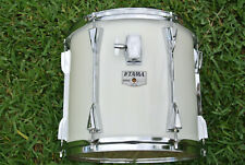 """ADD this TAMA 13"""" GRANSTAR TOM in WHITE for YOUR DRUM SET TODAY! LOT #E422"""