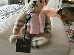 Burberry teddy bear jointed