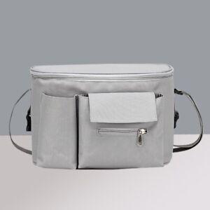 Baby Stroller Organizer Pushchair Storage Bag Large Space Multi Pocket Case Bag