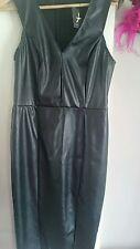 Primark leather look dress size 18