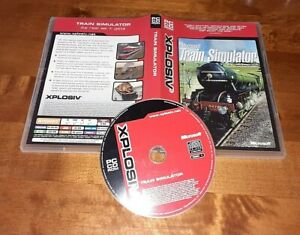 MICROSOFT TRAIN SIMULATOR PC CD ROM COMPLETE IN ACCEPTABLE WORKING CONDITION
